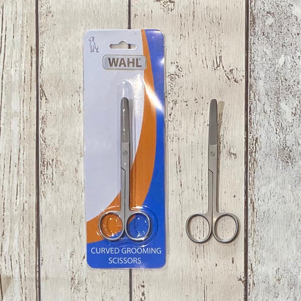 Curved Grooming Scissors - Doghouse