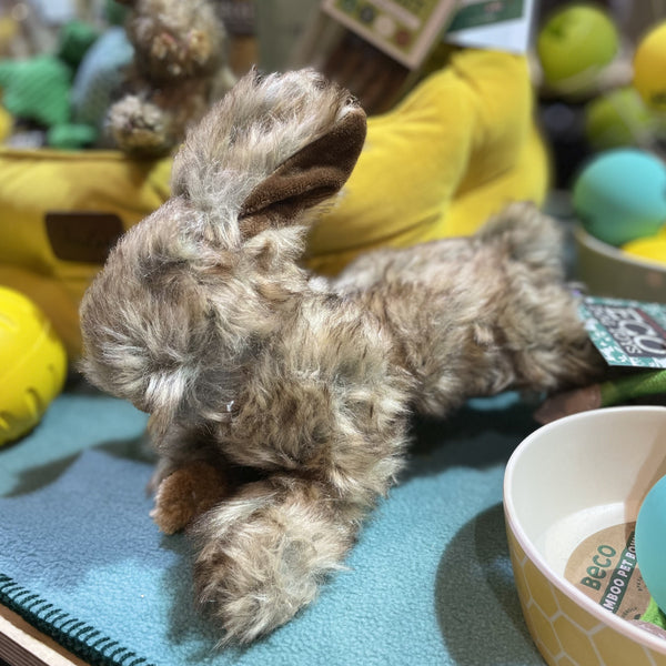 Country Rabbit Dog Toy