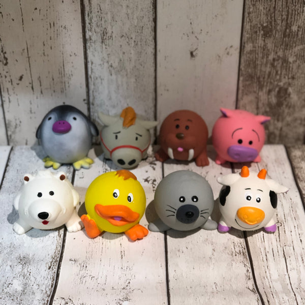 Squeaky Fun Toy Dog Balls - Doghouse