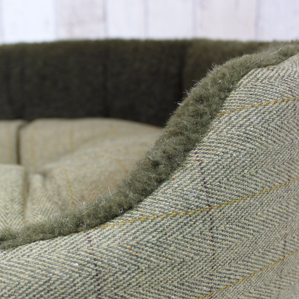 Tweed Snuggle Bed - Doghouse