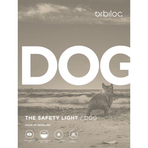 Orbiloc Collar Safety Light - Doghouse