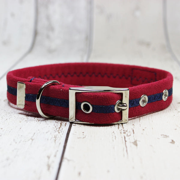 Red Oscar and Hooch Dog Collar - Doghouse