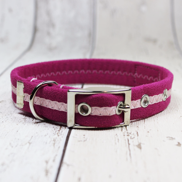 Pink Oscar and Hooch Dog Collar - Doghouse