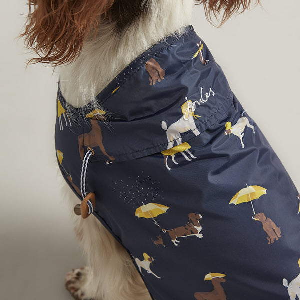 Joules Coastal Print Dog Raincoat - Doghouse