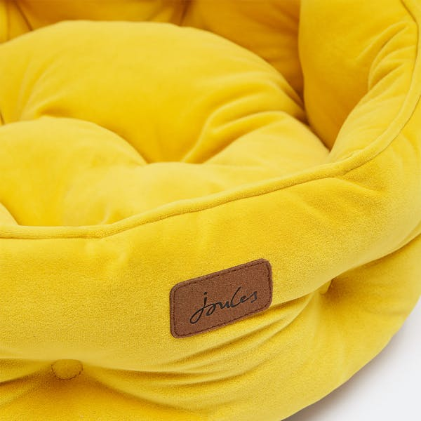 Yellow Velvet Dog Bed Joules Pet Bed Doghouse