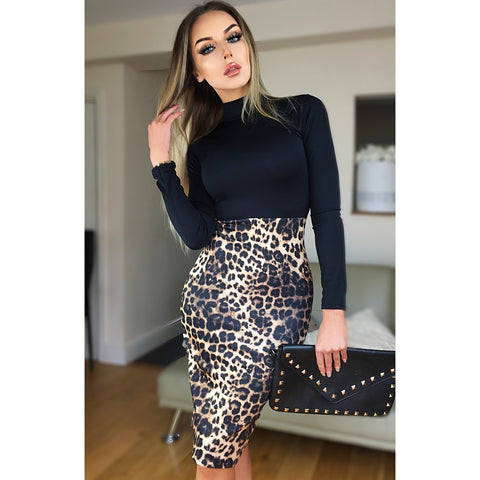 2d6ce02aa0f Isla Leopard Print Dress.  39.99. Rachel Stretch Denim Dress