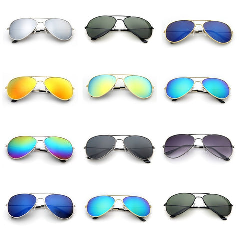 Polarized Mirrored Lens UV Protection Sunglasses - Squarich