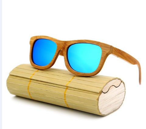 Handmade Wooden Sunglasses - Squarich