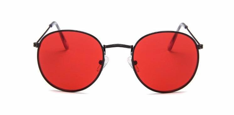 Simple Oval - RED BLACK - Illustré Eyewear