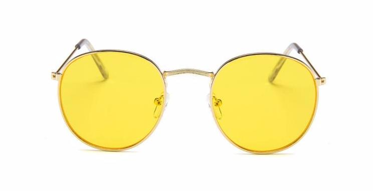 Simple Oval - YELLOW - Illustré Eyewear
