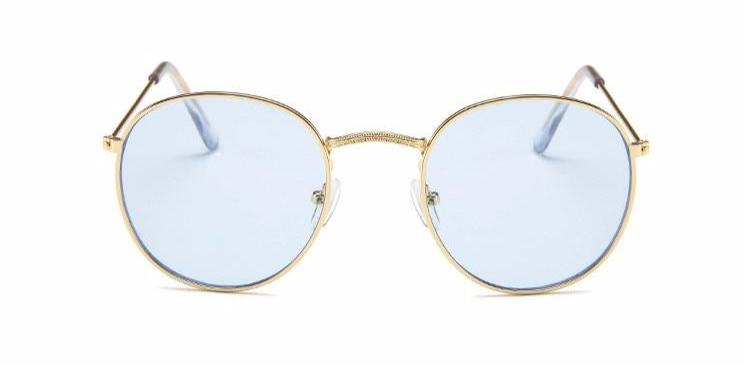Simple Oval - BLUE - Illustré Eyewear