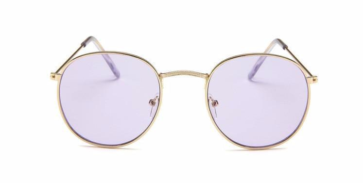 Simple Oval - PURPLE - Illustré Eyewear
