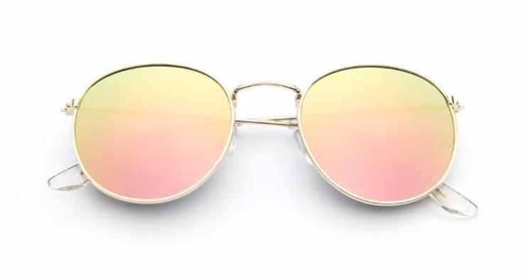 Simple Oval - PINK MIRROR - Illustré Eyewear