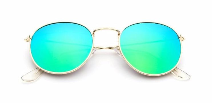 Simple Oval - BLUE MIRROR - Illustré Eyewear