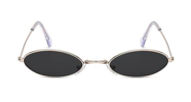 Retro - BLACK SILVER - Illustré Eyewear
