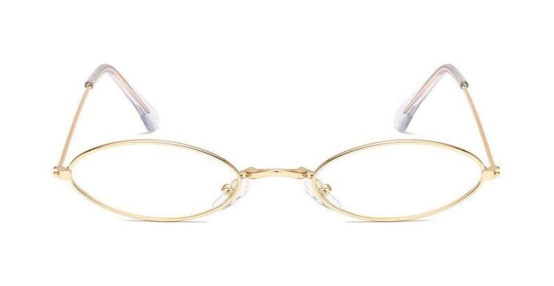 Retro - CLEAR GOLD - Illustré Eyewear