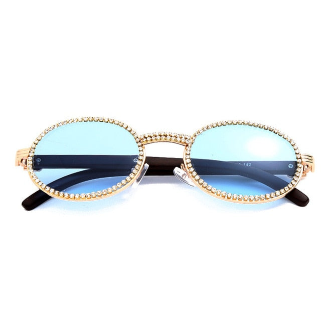Quavo Basic - BLUE GOLD - Illustré Eyewear