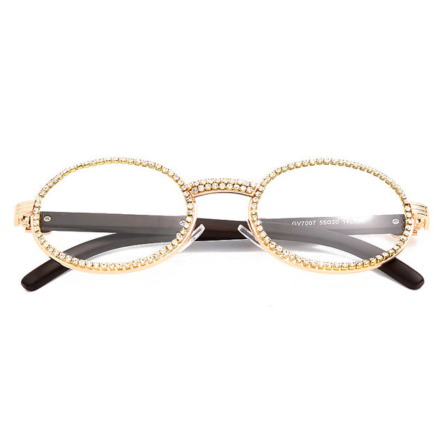 Quavo Basic - CLEAR GOLD - Illustré Eyewear