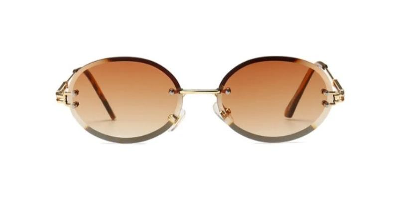 Peek Oval - BROWN - Illustré Eyewear