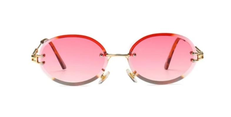 Peek Oval - PINK - Illustré Eyewear