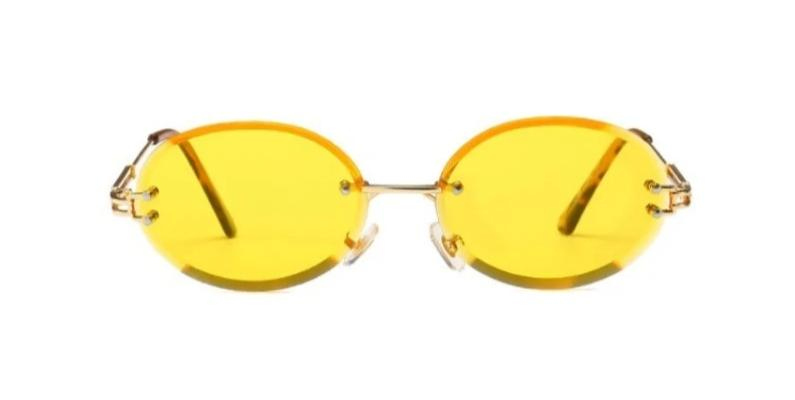 Peek Oval - YELLOW - Illustré Eyewear