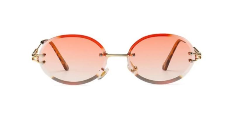 Peek Oval - BLUSH - Illustré Eyewear