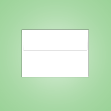 Blank 4 Bar Envelope
