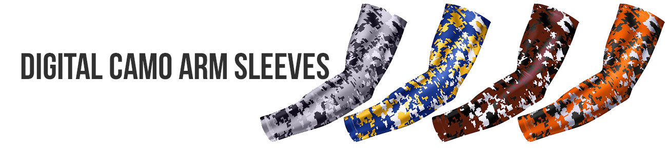 Digital Camo Arm Sleeves