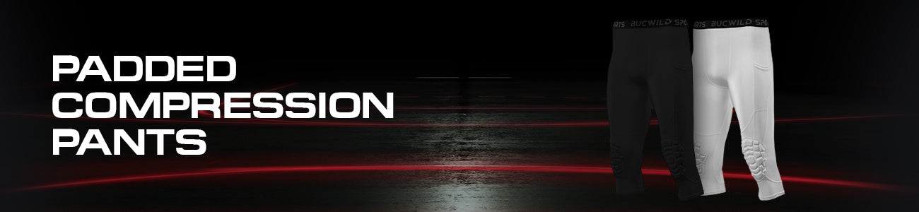3/4 Compression Pants w/Knee Pads