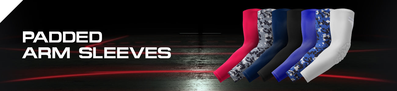 Padded Compression Arm Sleeves