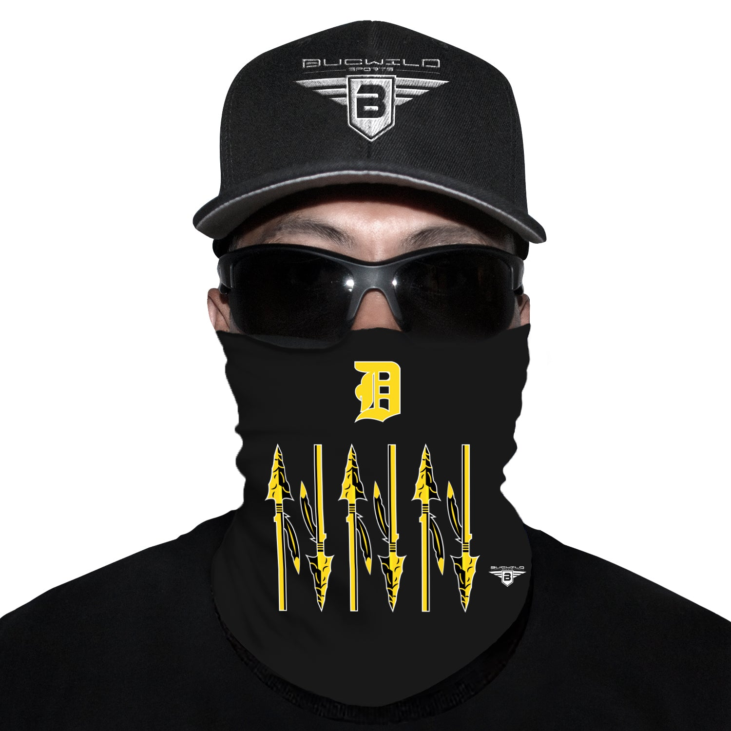 D'Iberville Warriors Mississippi Neck Gaiter Face Mask
