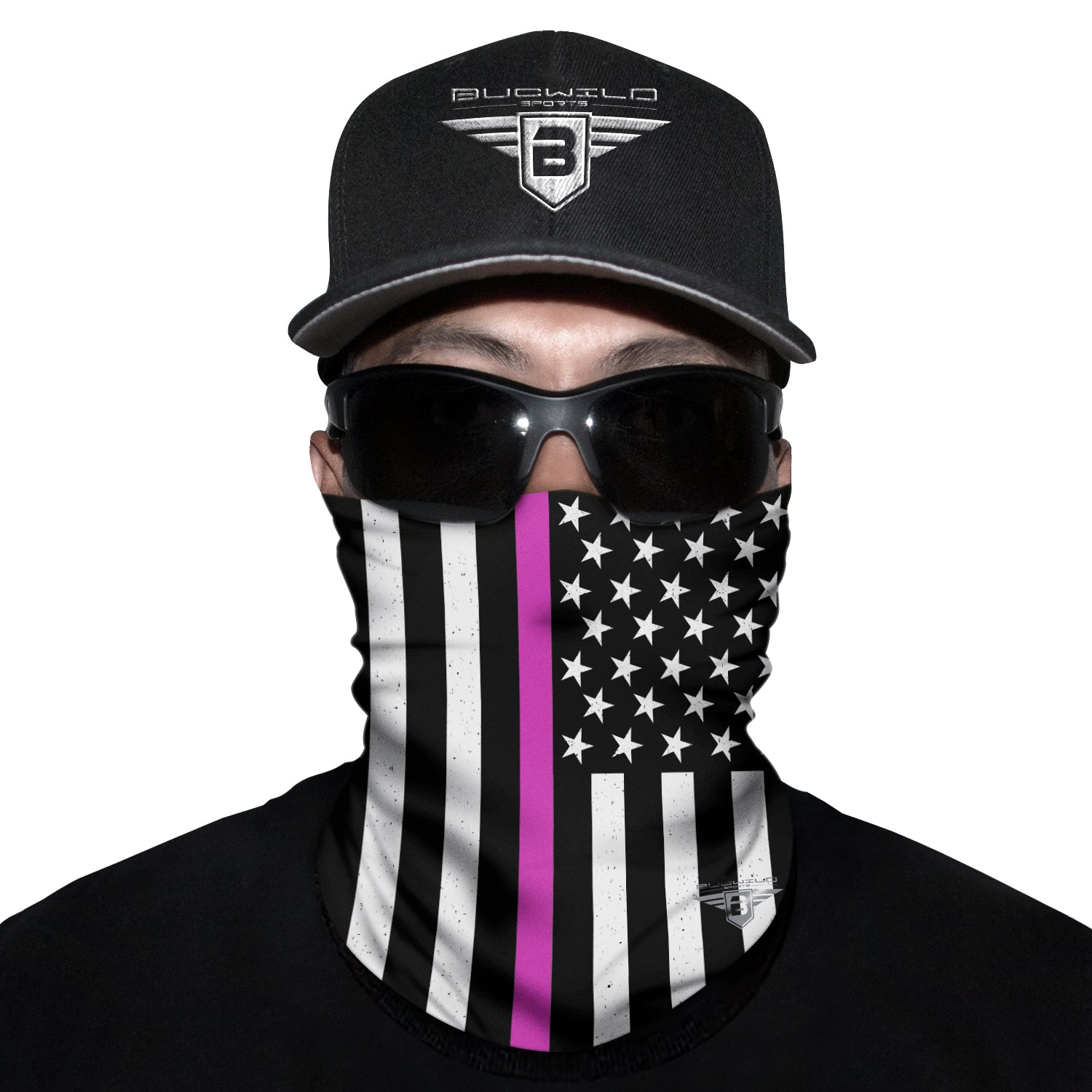 Breast Cancer Awareness USA Neck Gaiter Face Mask