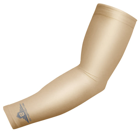 Tan Compression Arm Sleeve