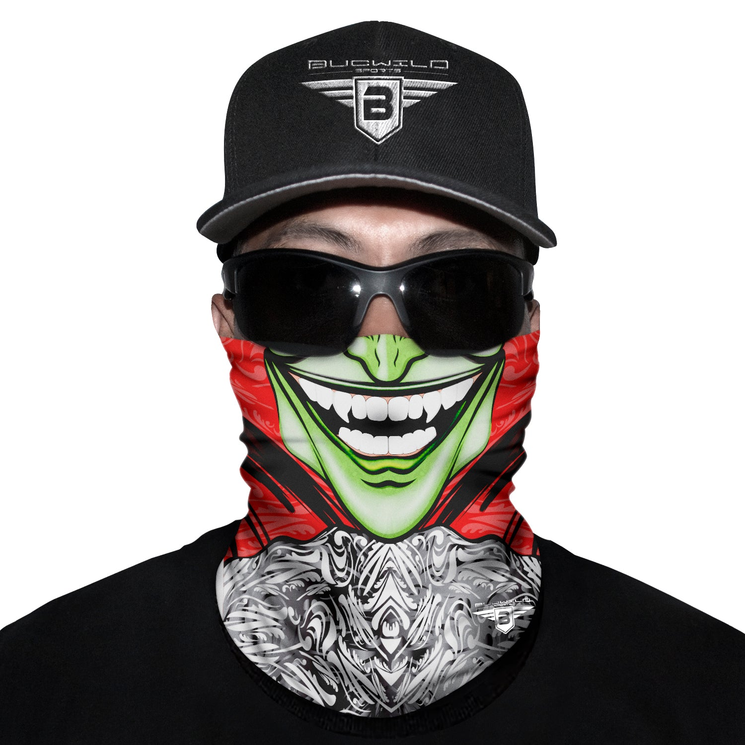 Green Mask Neck Gaiter Face Mask