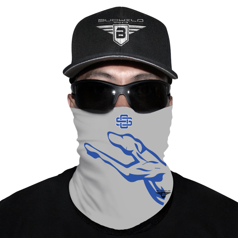 Ocean Springs Mississippi Greyhounds Neck Gaiter Face Mask