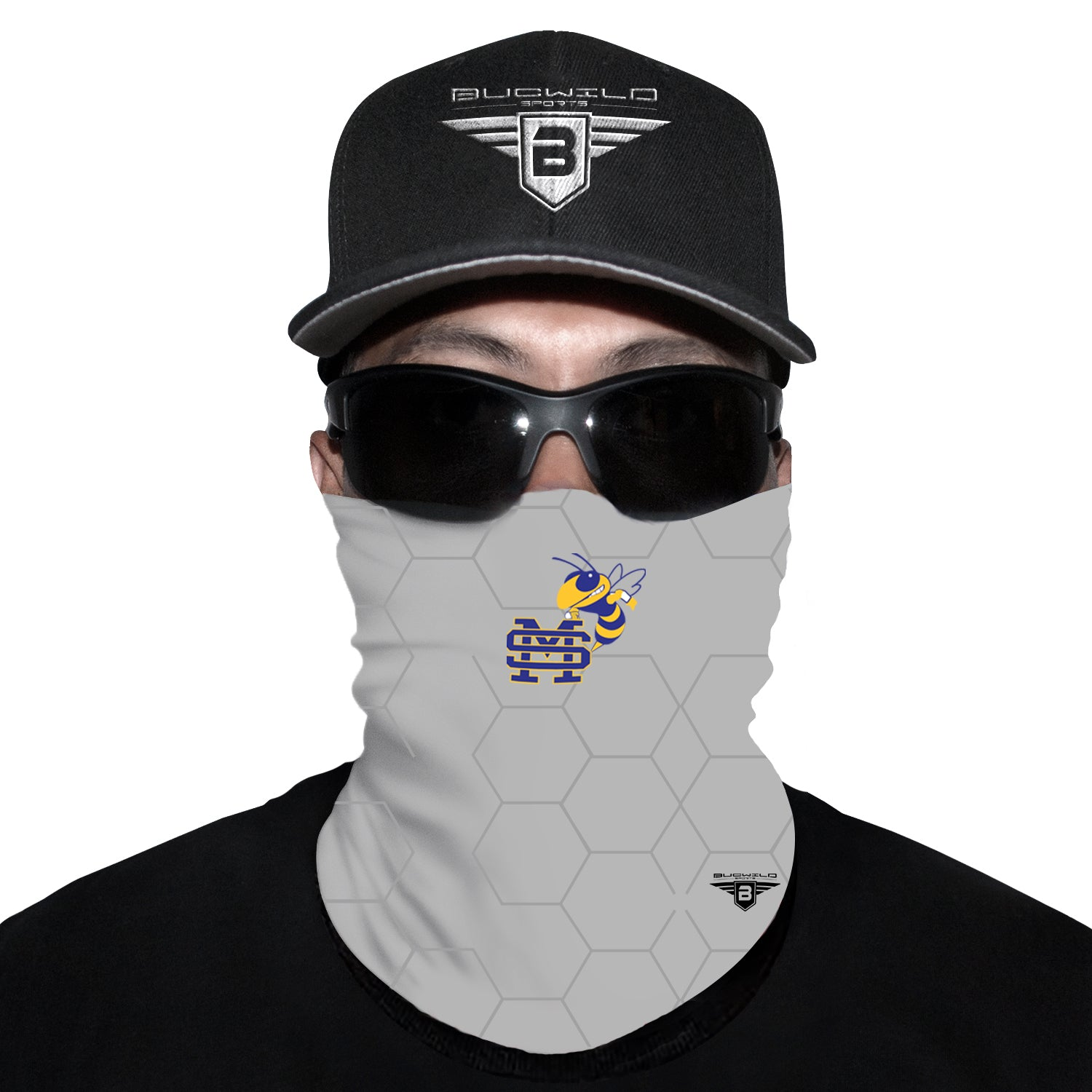 St. Martin Yellow Jackets Mississippi Neck Gaiter Face Mask