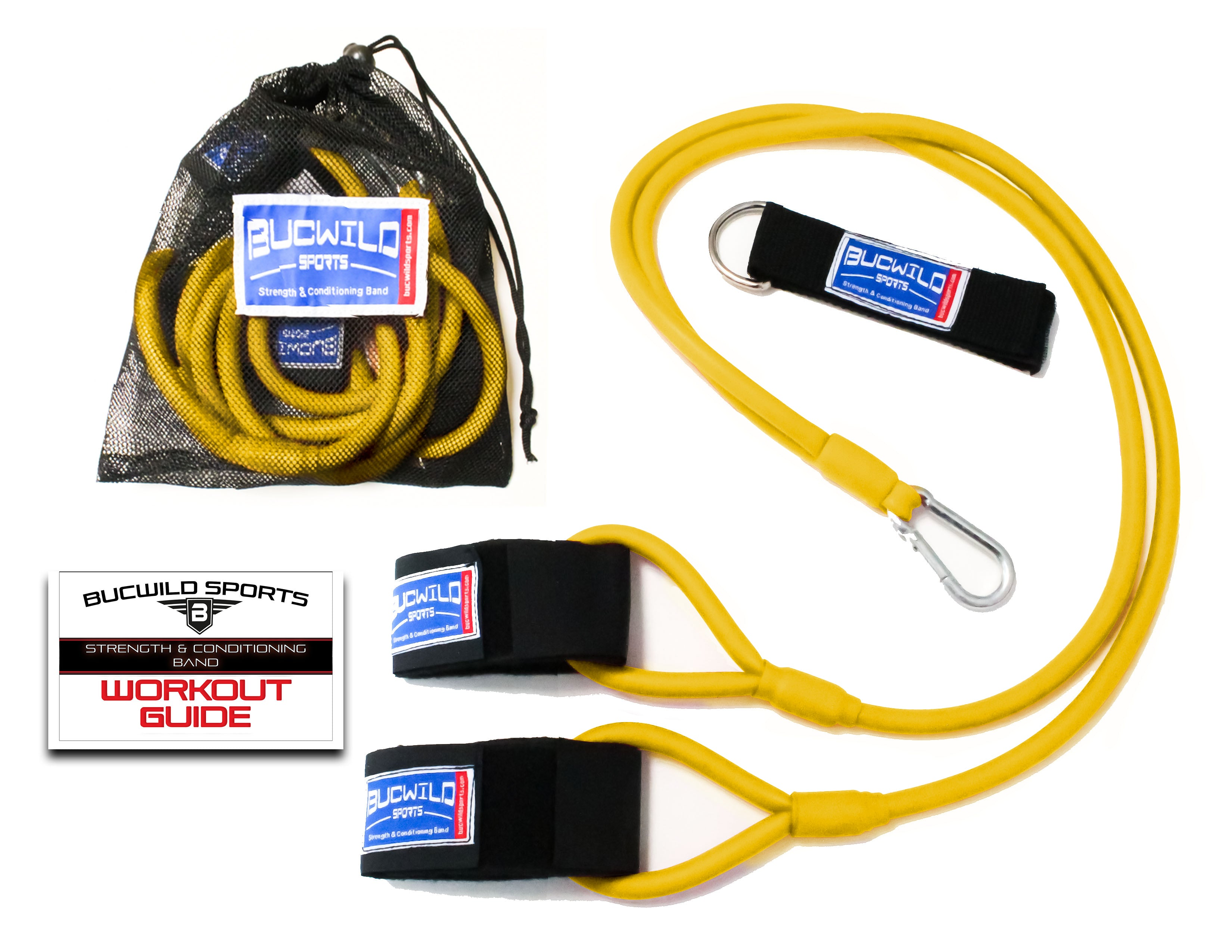 Strength & Conditioning Resistance Band (Baseball Bands) Yellow (Adult)