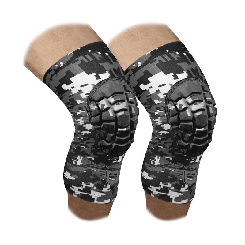 Compression Knee Pads - Black Camo