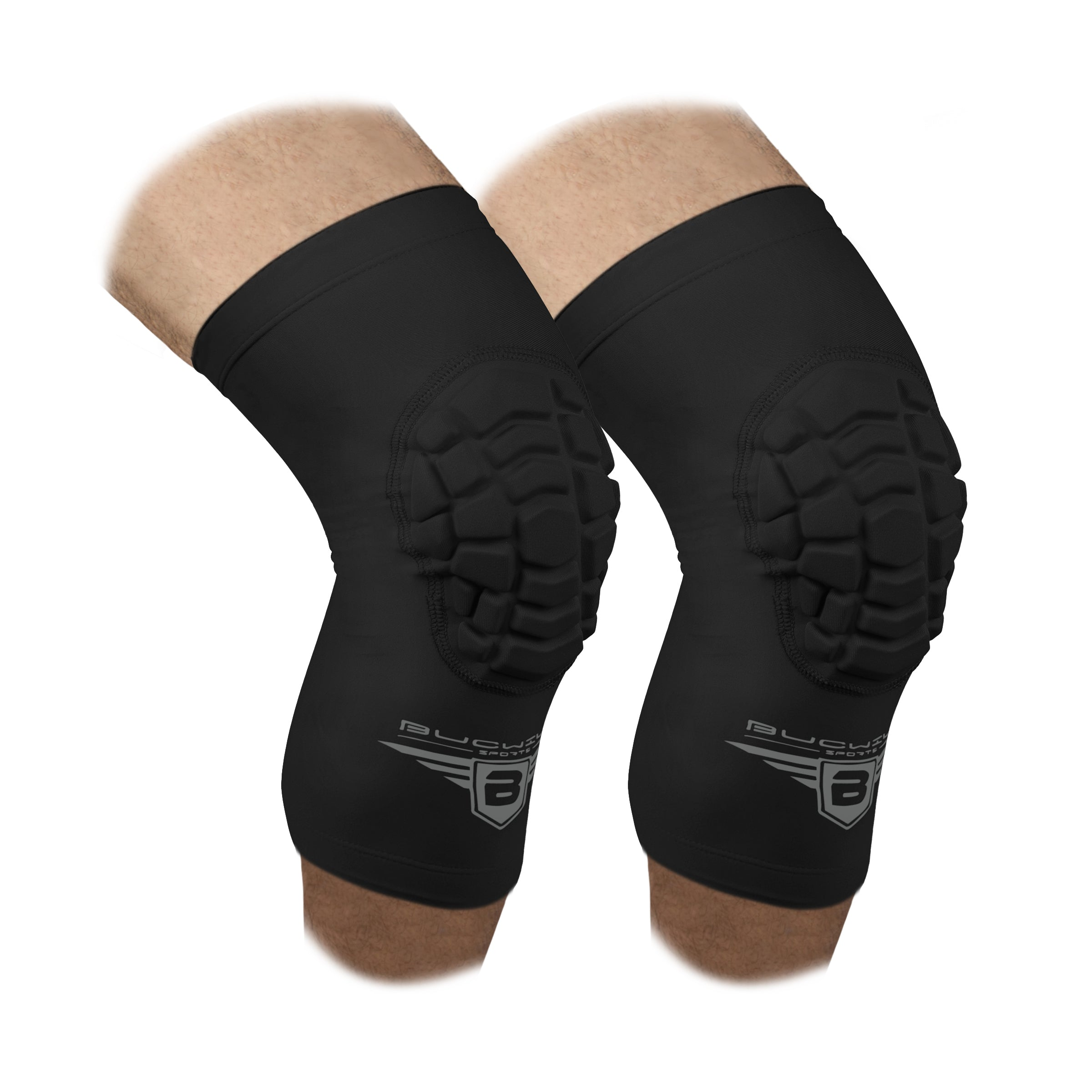 Compression Knee Pads - Black