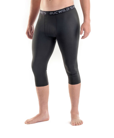 3/4 Compression Pants/Tights - Black