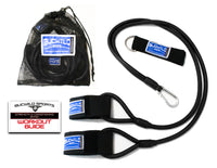 Strength & Conditioning Resistance Band (Baseball Bands) Black Ages 12 & Under