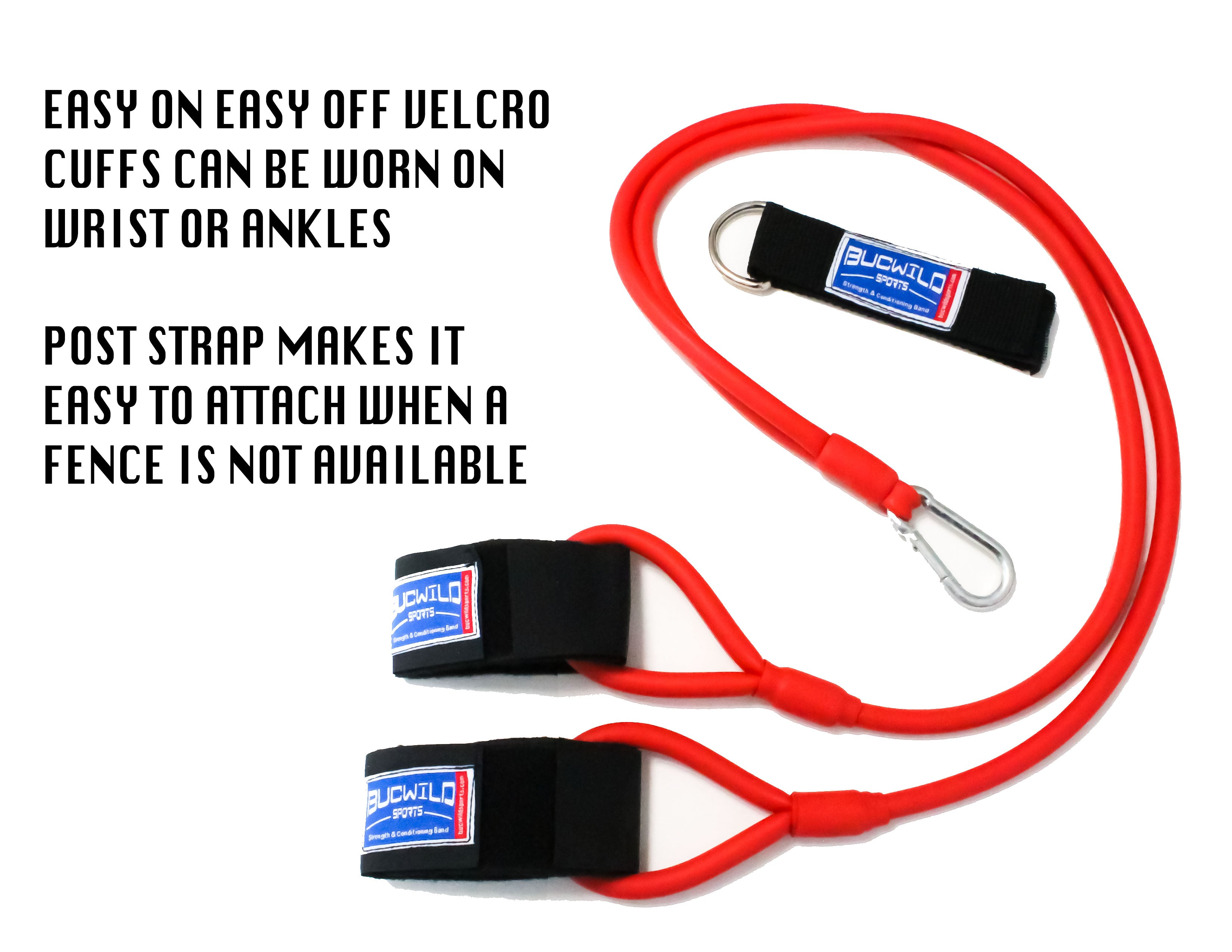 Strength & Conditioning Resistance Band (Baseball Bands) Red Ages 13 & Up