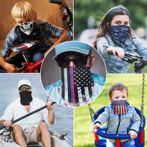 USA American Flag Neck Gaiter Face Mask