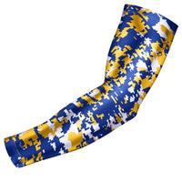Blue & Yellow Digital Camo Arm Sleeve