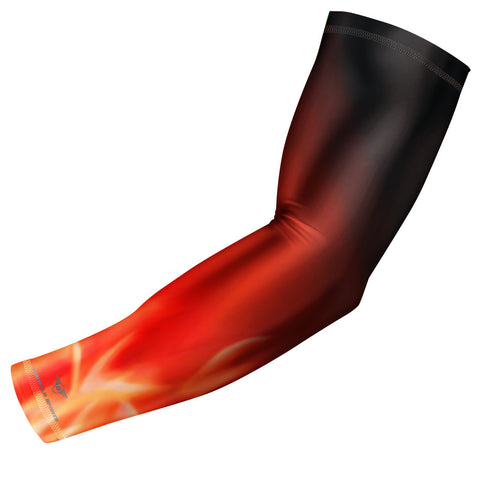 Fire - Flames Compression Arm Sleeve
