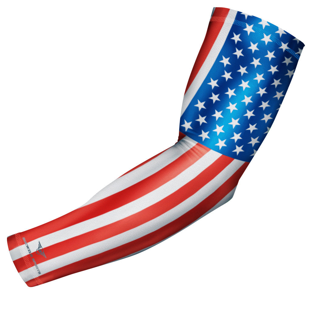 USA Flag Compression Arm Sleeve