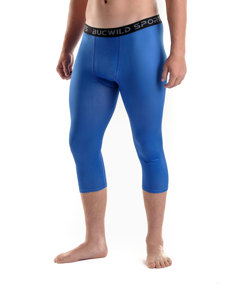 8a0c0e1c3f 3/4 Compression Pants/Tights - Royal Blue – Bucwild Sports