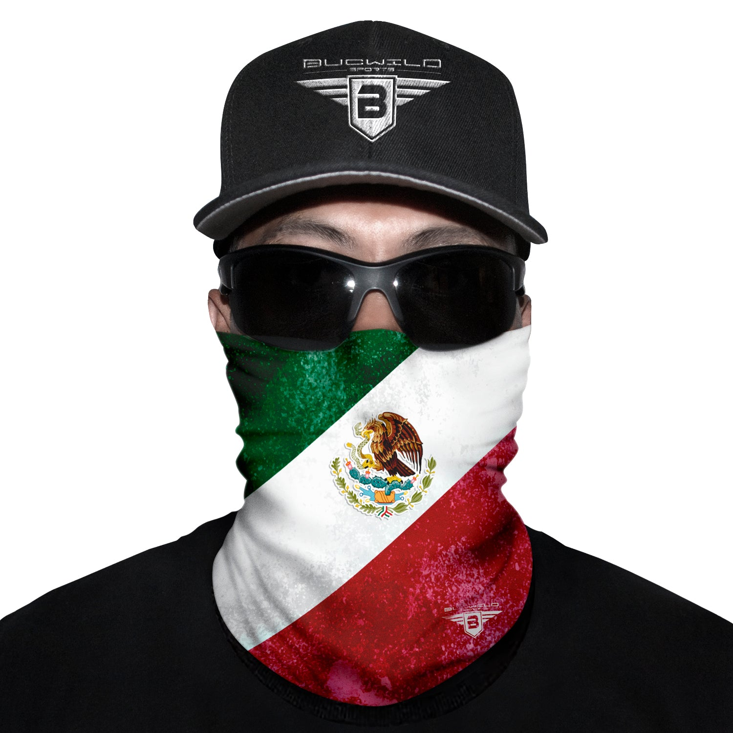Mexico Flag Neck Gaiter Face Mask