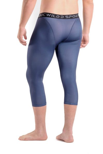 3/4 Compression Pants/Tights - Navy Blue