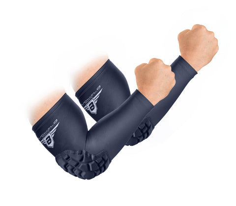 Padded Arm Sleeves - Black